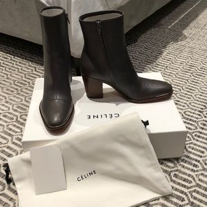 Celine leather boots